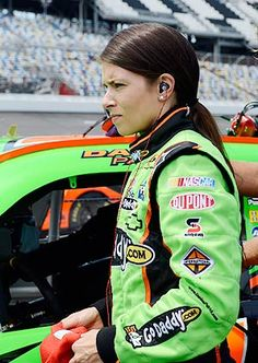 Danika Patrick for doing my dream job and proving that women can drive too.