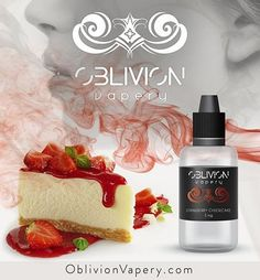 Don't have a Cheesecake Factory near you?    Don't go out of your way for some classic dessert, we've got you covered.     Take a look at Oblivion's strawberry cheesecake flavor here: http://qoo.ly/b3ui4