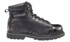 90245 Silverton SG - Caterpillar Men's Steel Toe Work Boots with slip-resistant soles.  You've got serious work to do and that calls for serious boots. The Silverton steel toe boot steps up to any job, with rugged construction, full leather uppers, SuperWelt™ construction, classic lace-to-toe styling that keeps you in control in even the toughest environments. $120.00