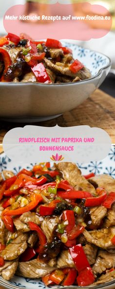 Yummy! Chinesische Köstlichkeiten mit Rindfleisch und Paprika Dinner For Two, Foodblogger, Chinese Food, Germany, Chinese Cuisine, Chinese Recipes, Asian Cuisine, Asian Recipes, Food And Drinks