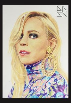 Paula Vesala - Derwent coloured pencils