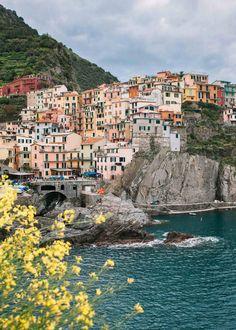 Guía para visitar Cinque Terre