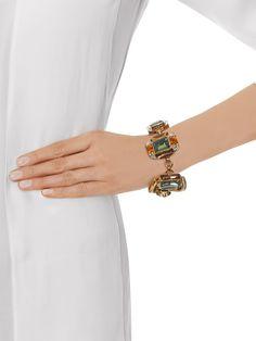 Horsebit crystal-embellished bracelet | Gucci | MATCHESFASHION.COM UK
