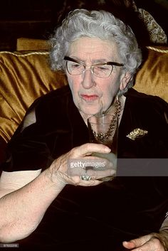 Picture dated in March 1971 in Paris of English writer Dame Agatha Christie