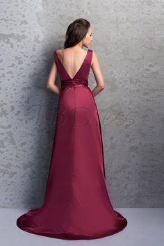 Bridesmaids gown - rear view