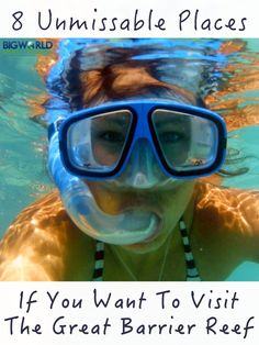 8 Unmissable Places to See the Great Barrier Reef, Australia {Big World Small Pockets}. Coast Australia, Visit Australia, Australia Travel, Australia 2017, Australia Photos, Queensland Australia, Australian Road Trip, British Travel, Backpacking Tips
