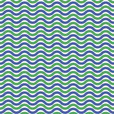PATTERN ZEST100. blue and green. azul y verde. blau i verd. ones ondas waves