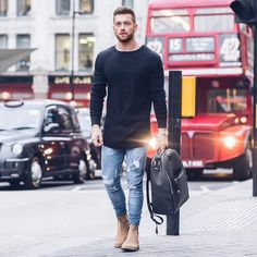 Best Inspirations: Fall Streetwear For Mens Collections Tan Chelsea Boots, Chelsea Boots Outfit, Streetwear, Style Board, Mode Hip Hop, Casual Outfits, Men Casual, Look 2018, Light Jeans