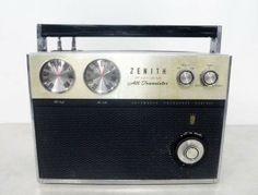 Vintage Zenith FM/AM All Transistor