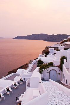The property has spellbinding views of the caldera from every angle. #Jetsetter Canaves Oia (Santorini, Greece)