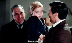 """ Thomas Barrow in Downton Abbey: The Final Episode "" .."