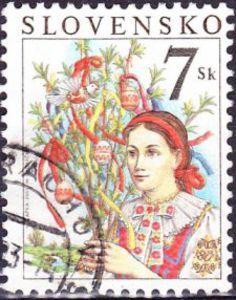 #Slovakia #stamp 2003 #Easter