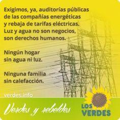 Los Verdes exigen la dimisión de Soria, Ministro de Industria y Energía, por la brutal subida del recibo de la luz