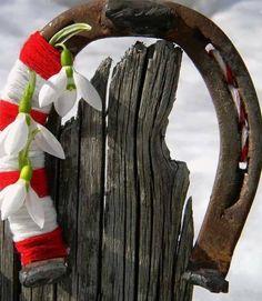 Baba Marta, Magic Day, Grapevine Wreath, Grape Vines, March, Wreaths, Seasons, Handmade, Home Decor