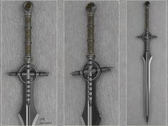 I think I could recreate this #D art sowrd in a LARP-legal foam facsimile. - pipe sword by peterku on deviantART