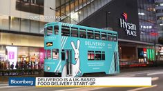 """William Shu, Deliveroo's founder and chief executive officer, discusses the food delivery business with Bloomberg's Shery Ahn on """"Trending Business."""" (Source: Bloomberg)"""