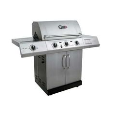 Char-Broil Gourmet 3-Burner TRU-Infrared Propane Gas Grill with Side Burner-463251713 at The Home Depot