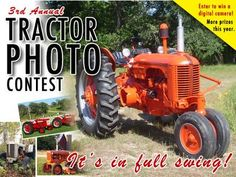 Tractor photo contest in full swing