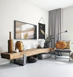 stylingtips voor je interieur - You are in the right place about eclectic decor Here we offer you the most beautiful pictures abou - Apartment Interior, Home Living Room, Interior Design Living Room, Living Room Designs, Living Room Decor, Bedroom Decor, Home Decor Inspiration, Decor Ideas, House Design