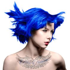 Manic Panic Amplified Semi Permanent Colour Hair Dye (Shocking Blue)