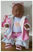 baby born Baby Born Clothes, Diy Toys, Doll Patterns, Baby Dolls, Doll Clothes, Onesies, Clothing, Kids, Plushies