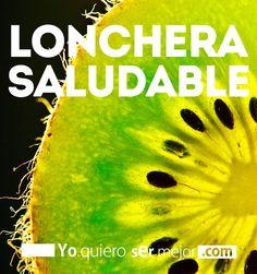 Lonchera saludable #Dieta #Nutricion #Ejercicio #Salud #TodoNutricion #EmpresasSaludables #Healthy #Yoquierosermejor