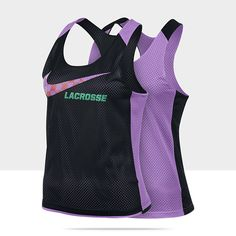 Nike Lacrosse Reversible Womens Training Tank Top $25