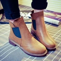 Womens Trendy Casual Ankle Dress Boots