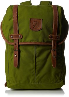 Fjällräven Rucksack No.21 Medium, Meadow Green, 13 x 28 x 44 cm, 20 liters, 24205-602: Amazon.de: Sport & Freizeit