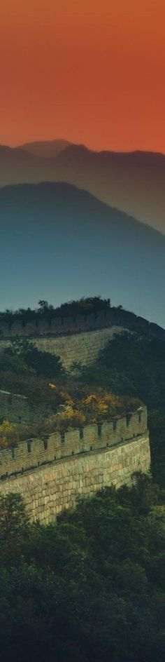 "The Great Wall of China - from the Exhibition: ""Cropped for Pinterest"" - photo from #treyratcliff Trey Ratcliff."
