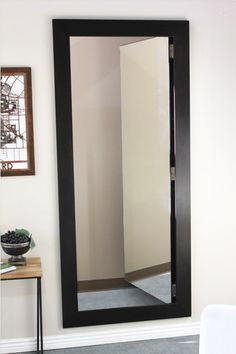 Easily hide an entire room or closet with our pre-assembled hidden mirror door. Use the same solution celebrities & CEOs use. Mirror Closet Doors, Room Doors, Mirror Door, Hidden Spaces, Hidden Rooms, Passage Secret, Safe Room, Secret Rooms, Closet Bedroom