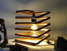 Copper spring moderne cuivre ressort par LarueCreationsDesign