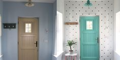 Project by: Joanne Location: Clonmel — County Tipperary, Ireland We love a good entryway makeover, and this one is truly fantastic! The space goes from basic to bright and whimsical!