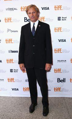 """Viggo Mortensen Photos Photos - Actor Viggo Mortensen attends the """"Far From Men"""" premiere during the 2014 Toronto International Film Festival at Winter Garden Theatre on September 9, 2014 in Toronto, Canada. - 'Far From Men' Premiere - 2014 Toronto International Film Festival"""