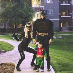 Disfraz familiar Batman