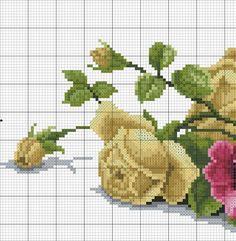 images attach c 8 105 66 Cute Cross Stitch, Cross Stitch Bird, Cross Stitch Borders, Cross Stitch Flowers, Cross Stitch Charts, Cross Stitch Designs, Cross Stitching, Cross Stitch Patterns, Basic Embroidery Stitches