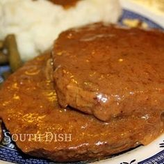 Crock Pot Round Steak & Gravy