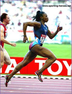 Gail Devers 10.76 100 meter overcoming Graves disease, #borninseattle #sisterheroes @oiselle