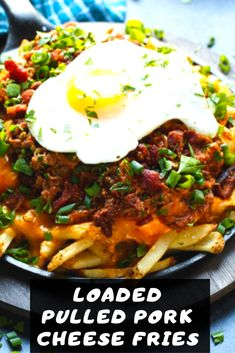 This recipe for Loaded Pulled Pork Cheese Fries was created in partnership with Davidson's Safest Choice® Pasteurized Eggs. As always, all opinions and recipe are my own. Thanks for supporting the brands that support Shared Appetite! French Fries Recipe, Game Day Snacks, Cheese Fries, Honey Mustard, Coleslaw, Eat Healthy, Pulled Pork, Eggs, Nutrition