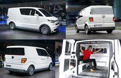 Инсайдеры поведали ошестом поколении фургона VW Transporter