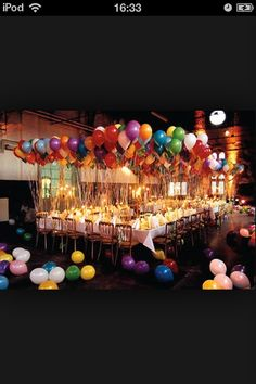 Perfect amount of balloons! Put tags on for guests to write a wish on and all release them together