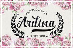 Ardina Script example image