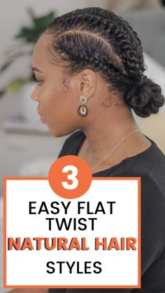 Natural Hair Flat Twist, Protective Styles For Natural Hair Short, Short Hair Twist Styles, Flat Twist Styles, Flat Twist Hairstyles, Flat Twist Updo, Natural Hair Updo, Natural Hair Styles For Black Women, Natural Hair Care