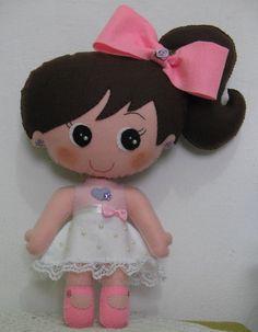 bonecas-de-feltro-32-cm-bonecas                              …
