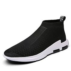 IceUnicorn Mens Trainers Slip on Lightweight Running Shoes Outdoor  Breathable Sneakers Casual Walking Shoes. 71d6b7aaf