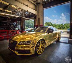 Audi Rs7 Gold