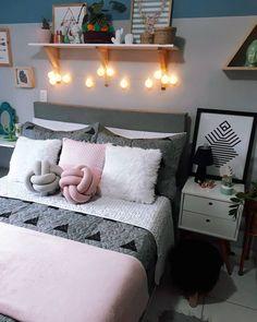 Girl Bedroom Designs, Home Office Decor, Home Decor Furniture, Bed Design, Girl Room, Bedroom Decor, Decoration, Interior Design, Instagram