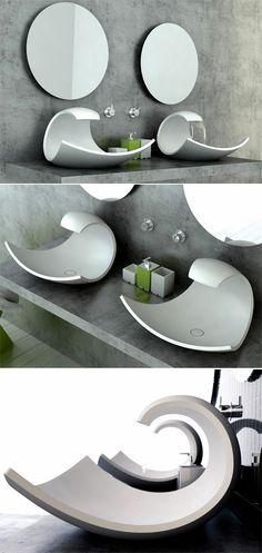 waschbecken design joel roberts ähnliche tolle Projekte und Ideen wie im Bild…