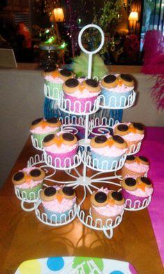 Night Owl Party cake ideas Pinterest Nacht Pyjamafeestje
