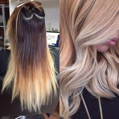 TRANSFORMATION: Dated Ombre to Modern Sombre | Modern Salon